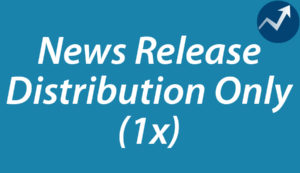 1 x News Release Distribution Only